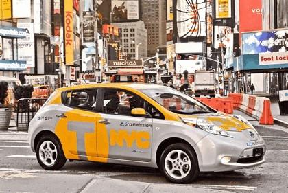 2013 Nissan Leaf - New York City Taxi 1