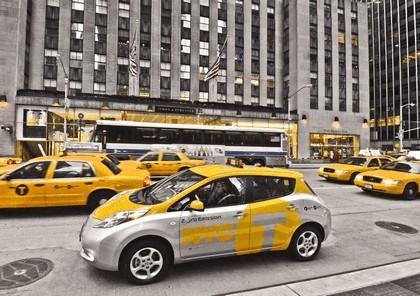 2013 Nissan Leaf - New York City Taxi 2
