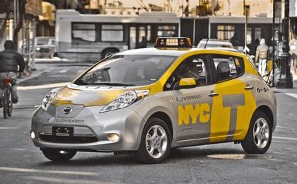 2013 Nissan Leaf - New York City Taxi 4