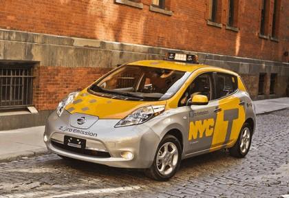 2013 Nissan Leaf - New York City Taxi 9