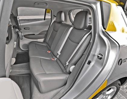 2013 Nissan Leaf - New York City Taxi 13