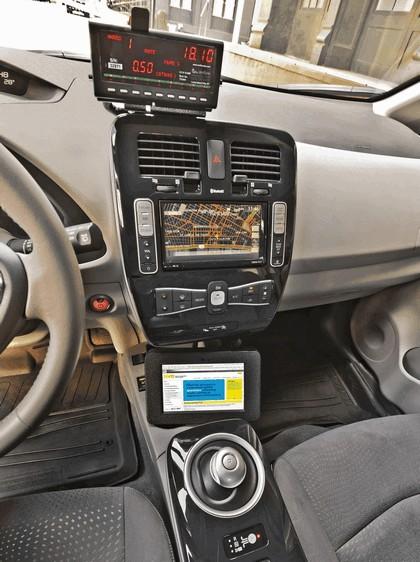 2013 Nissan Leaf - New York City Taxi 15