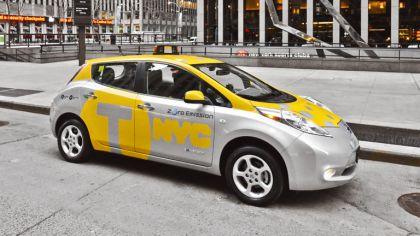 2013 Nissan Leaf - New York City Taxi 3