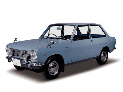 1966 Datsun Sunny ( B10 ) 2-door sedan 1