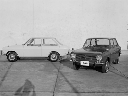 1966 Datsun Sunny ( B10 ) 2-door sedan 9