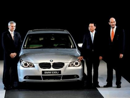 2007 BMW Brilliance 530Li chinese version 28