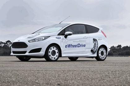 2013 Ford Fiesta eWheelDrive 10