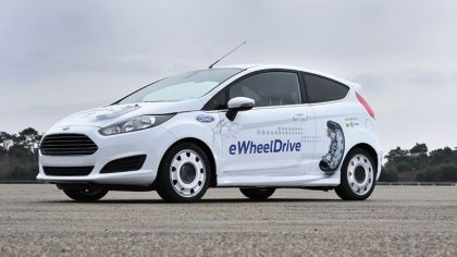 2013 Ford Fiesta eWheelDrive 9