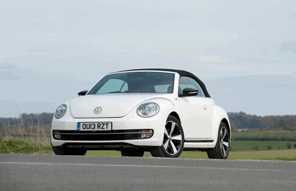 2013 Volkswagen Beetle cabriolet 60s white edition - UK version 4