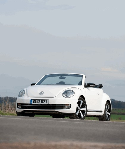 2013 Volkswagen Beetle cabriolet 60s white edition - UK version 6