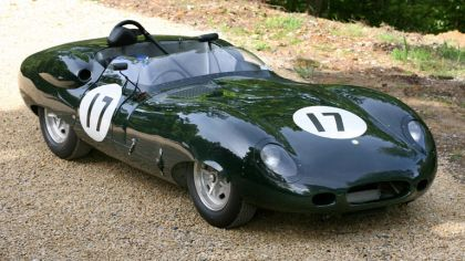 1959 Jaguar Costin roadster by Lister 2
