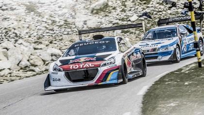2013 Peugeot 208 T16 Pikes Peak - Mont Ventoux test 4