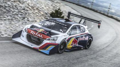 2013 Peugeot 208 T16 Pikes Peak - Mont Ventoux test 8