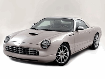 2003 Ford Thunderbird Retractable Glass Roof by Valmet 1