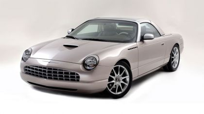 2003 Ford Thunderbird Retractable Glass Roof by Valmet 9