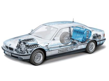 2000 BMW 750hL ( E38 ) Hydrogen V12 CleanEnergy concept 30