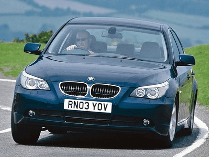 2003 BMW 520i ( E60 ) - UK version 3
