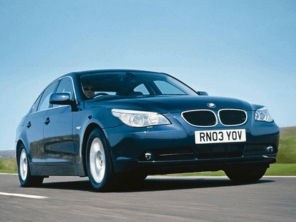 2003 BMW 520i ( E60 ) - UK version 4