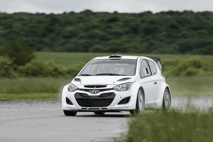 2013 Hyundai i20 WRC - test car 1
