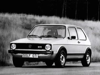 1976 Volkswagen Golf ( I ) GTI 3-door 10