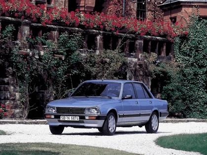 1986 Peugeot 505 1
