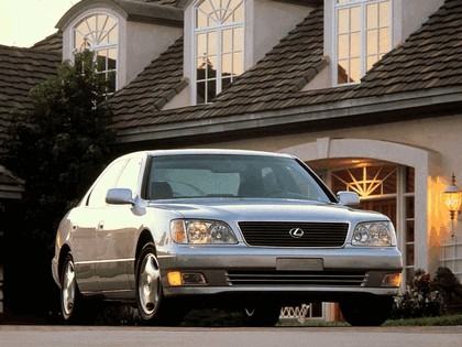 1997 Lexus LS 400 ( UCF20 ) - USA version 10