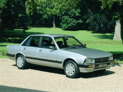 1986 Peugeot 505 V6 1