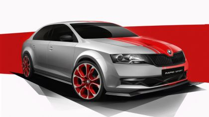 2013 Skoda Rapid Sport concept 6