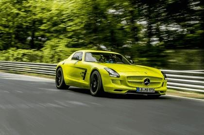 2013 Mercedes-Benz SLS AMG Electric Drive - Nuerburgring test 2