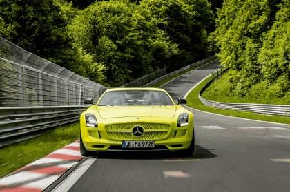 2013 Mercedes-Benz SLS AMG Electric Drive - Nuerburgring test 3