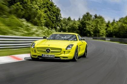 2013 Mercedes-Benz SLS AMG Electric Drive - Nuerburgring test 7