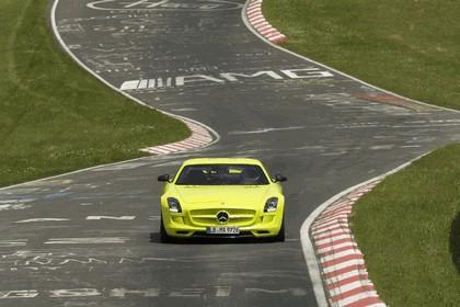 2013 Mercedes-Benz SLS AMG Electric Drive - Nuerburgring test 9