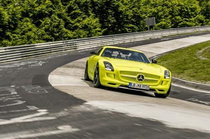 2013 Mercedes-Benz SLS AMG Electric Drive - Nuerburgring test 10