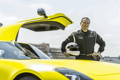2013 Mercedes-Benz SLS AMG Electric Drive - Nuerburgring test 12