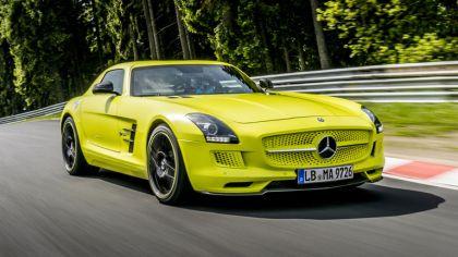 2013 Mercedes-Benz SLS AMG Electric Drive - Nuerburgring test 5
