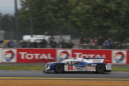 2013 Toyota TS030 Hybrid - Le Mans 24 Hours test day 5