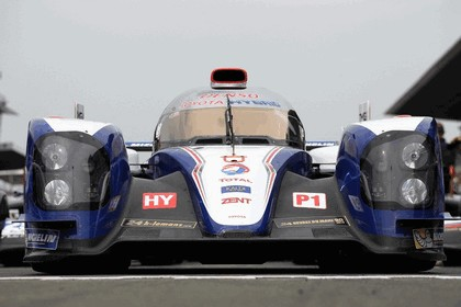 2013 Toyota TS030 Hybrid - Le Mans 24 Hours test day 16