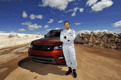 2013 Land Rover Range Rover Sport - Pikes Peak hill climb record 9