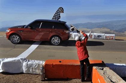 2013 Land Rover Range Rover Sport - Pikes Peak hill climb record 18