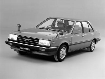 1981 Nissan Sunny ( B11 ) sedan 2