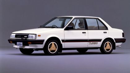 1982 Nissan Sunny ( B11 ) Turbo Leprix sedan 4