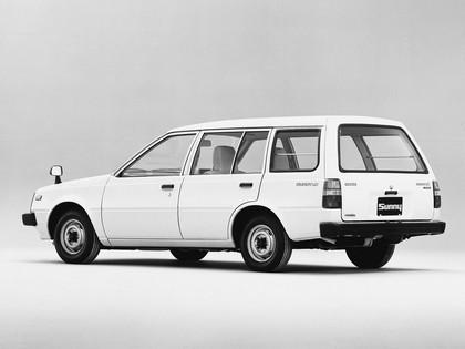 1982 Nissan Sunny ( VB11 ) Ad Van 2