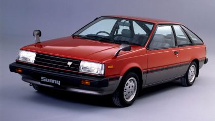 1983 Nissan Sunny ( B11 ) SGXE coupé - Japan version 7