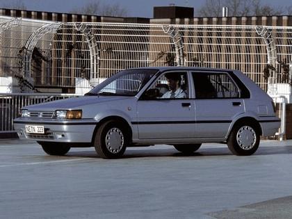 1986 Nissan Sunny ( N13 ) 5-door hatchback 1.6 SLX 1