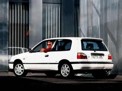 1990 Nissan Sunny ( N14 ) 3-door 3