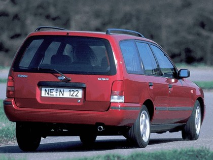 1990 Nissan Sunny ( Y10 ) Traveller 3