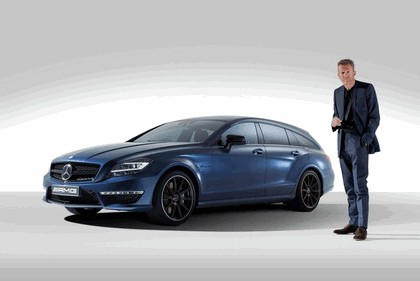 2013 Mercedes-Benz CLS63 Shoooting Brake ( X218 ) AMG by Spencer Hart 4