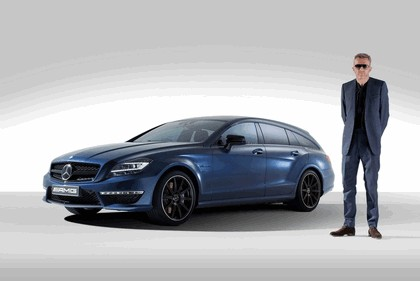 2013 Mercedes-Benz CLS63 Shoooting Brake ( X218 ) AMG by Spencer Hart 5