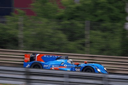 2013 Alpine A450 - Le Mans 24 Hours test day 14