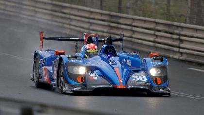 2013 Alpine A450 - Le Mans 24 Hours test day 1